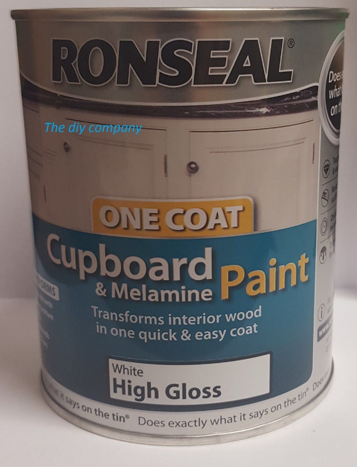 Kitchen Cupboard Colours Ronseal Cupboard Paint 750ml All Colours
